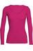 Icebreaker W's Siren LS Sweater Pop Pink/Pop Pink